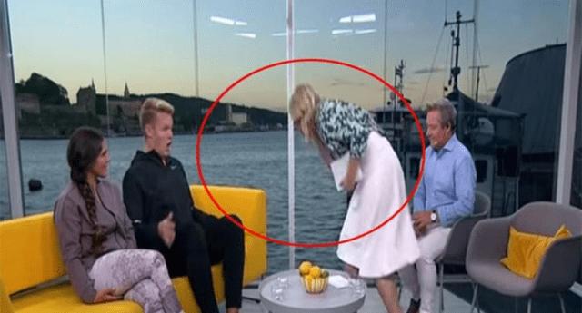 Periodista pasó la vergüenza de su vida en plena transmisión en vivo.