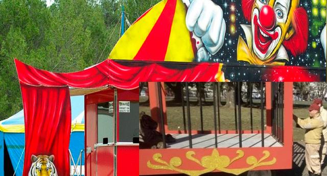 La verdad detrás del circo causó sorpresa en todo el pueblo.