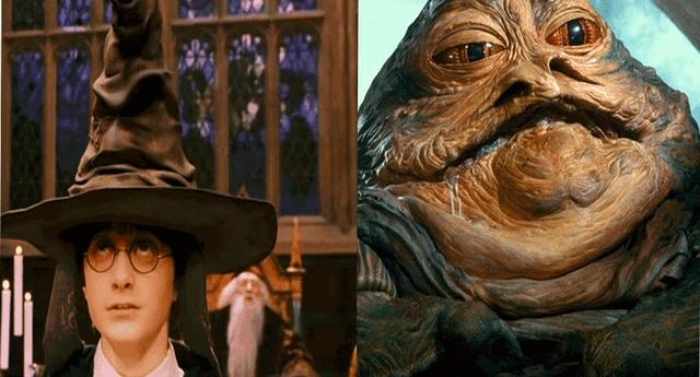 Para muchos el personaje que aparece es Jabba de Star Wars.