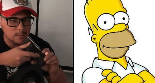 Hombre se hartó de las contantes llamadas de un teleoperador y lo trolleó épicamente con la voz de 'Homero Simpson'.