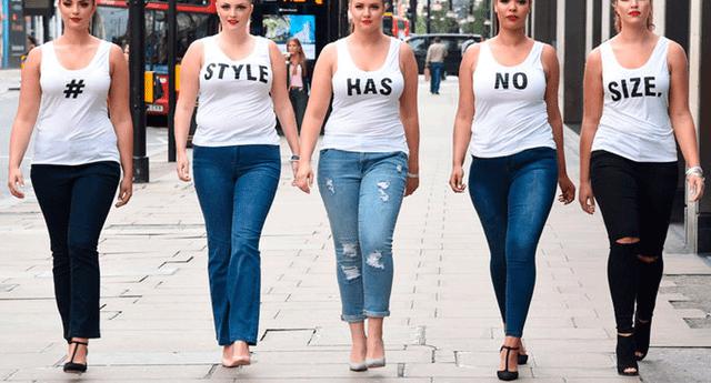 El movimiento Body Positive ha motivado a muchas chicas a aceptar sus cuerpos.