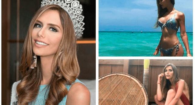 La modelo fue elegida este año como Miss España.