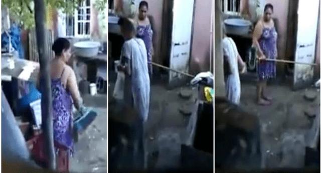 Altagracio Brito es la mala hija que maltrató y humilló a su madre de 80 años.