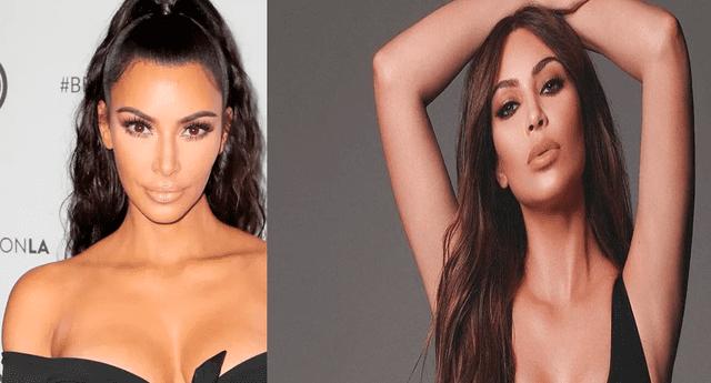 Kim Kardashian remeció las redes con infartante bikini negro