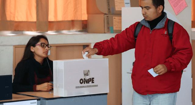 La ONPE indicó que  la multa por no ir a votar este domingo 7 de octubre varía de acuerdo al nivel de pobreza del distrito del elector