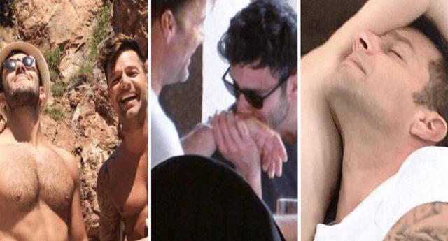 Ricky Martin presume a su esposo en la playa y sus íntimos momentos alborotan a fans.