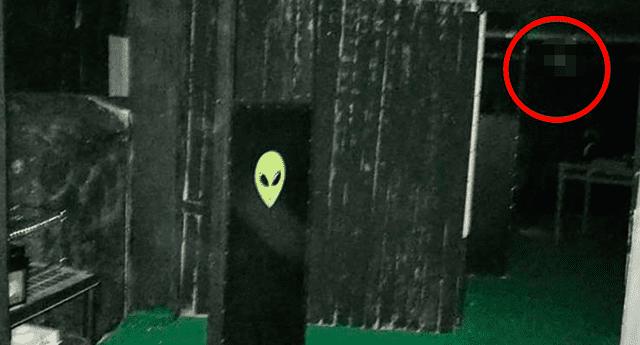 El demonio apareció en la fotografía de una turista.