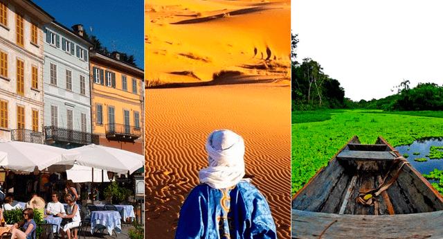 Los mejores destinos para viajar en 2019.
