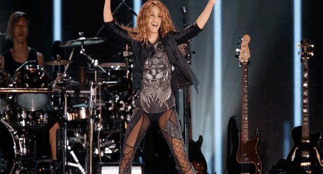La cantante tuvo un grato momento en su presentación de México.