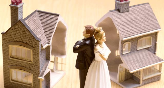 Convivir hace menos probable que la pareja se divorcie, pero solo en los primeros años.