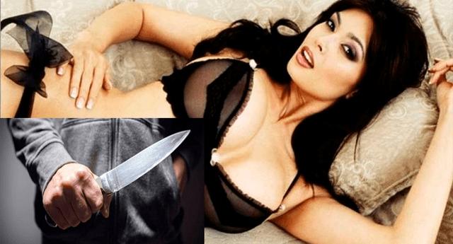 Un sujeto fue detenido luego de amenazar a su novia con un cuchillo por confundirla con una actriz XXX