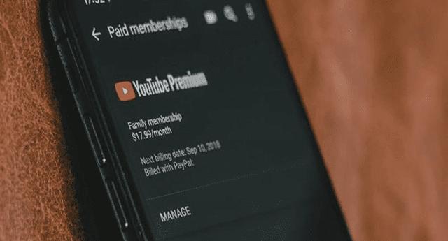 Google anunció la llegada de YouTube Premium y YouTube Music a Perú.