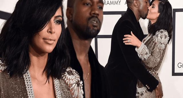 Kanye West filtra por error foto íntima de Kim Kardashian y fans lo trolean.