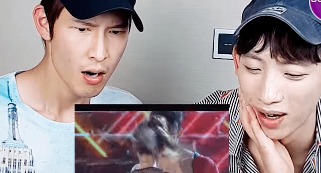 Coreanos fueron grabados mientras veían coreografía de reggaeton de reality latino y sus reacciones se hicieron viral