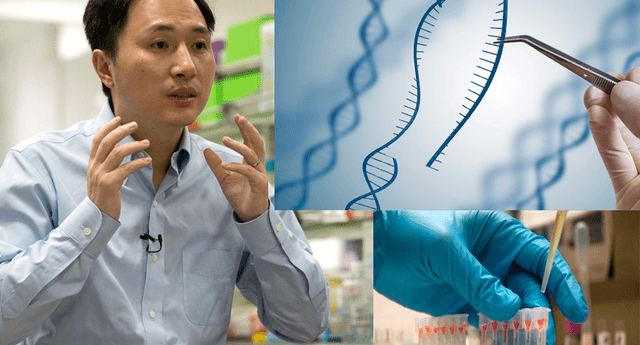 Científico He Jiankui asegura haber alterado embriones de varias parejas durante varios tratamientos de fertilidad.