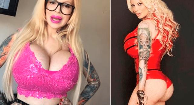 La actriz de cine para adultos quiere tener la cola falsa más grande del mundo.
