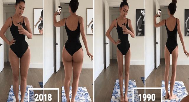 """Asiática desafió a la sociedad y mostró el """"cuerpo perfecto"""" de una mujer-"""
