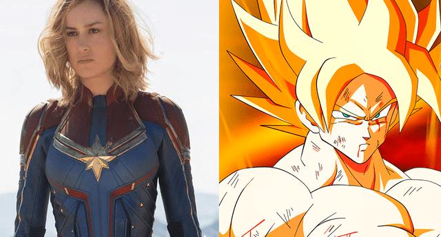 Fans de Dragon Ball Super ven a Capitana Marvel como una Super Saiyayin por esta razón