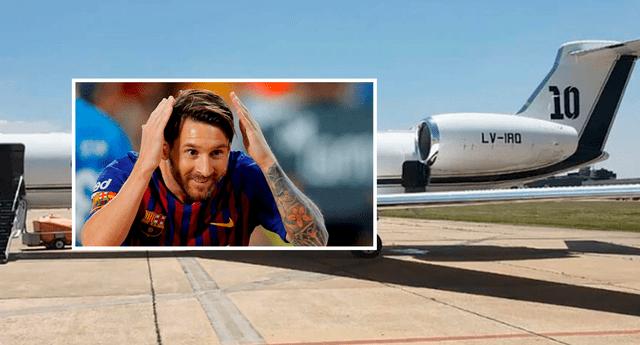 La nueva aeronave del crack argentino