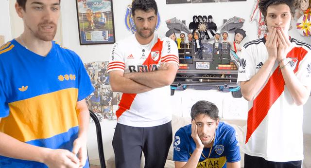 Así fue la reacción de los cuatro fanáticos del fútbol