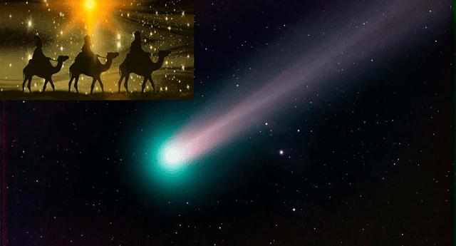 Los astrónomos estiman que el cometa de Navidad este año, no solo podrá verse como una estrella brillante, sino que hará su visita más cercana a la Tierra en 70 años