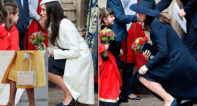 La reina Isabel, Meghan Markle y Kate Middleton siempre llevan el mismo estilo de zapato.