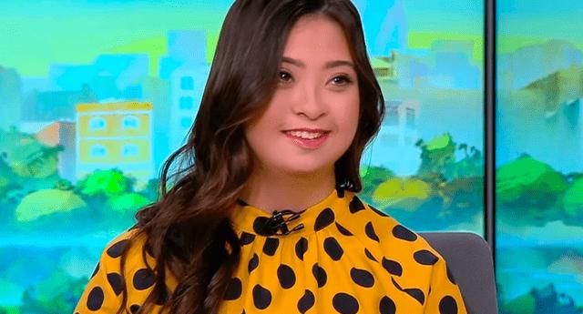Joven de 22 años se convirtió en la primera presentadora de televisión con síndrome de Down