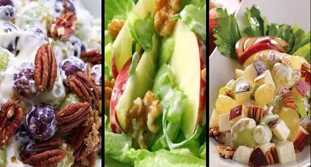 Las 5 mejores recetas de ensaladas navideñas fáciles y económicas.