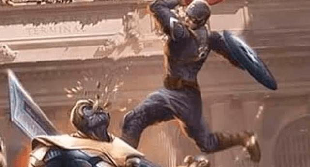 Curioso Fan Art ha dejado impactado a los fans de Marvel. Foto: Captura.