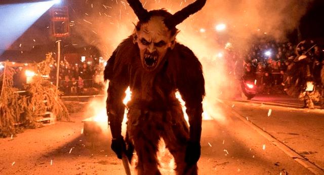 No querrás que el demonio de Navidad te visite.