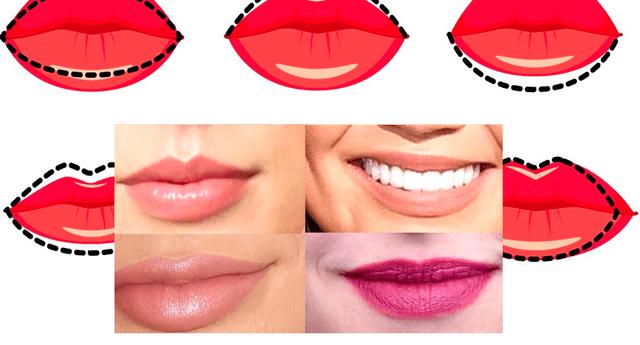 Descubre las características más resaltantes de tu personalidad, según la forma de tus labios.