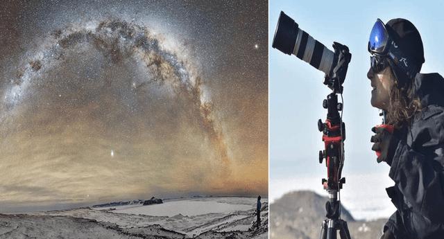 Fotógrafa deja a su familia y trabajo para vivir un año en la Antártida; expone viaje soñado