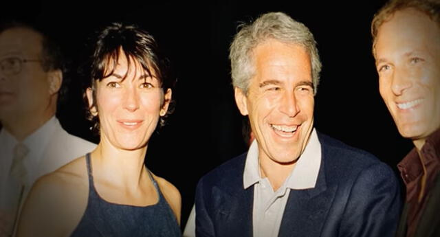 Ghislaine Maxwell y Jeffrey Epstein.
