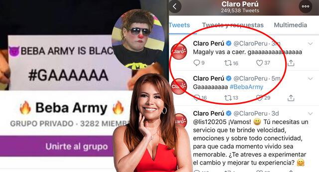 Beba Army hackea cuenta de Claro Perú