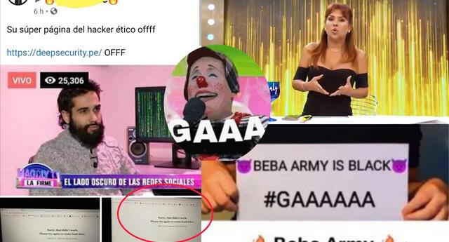 Beba Army hackeo a hacker de MAGALY