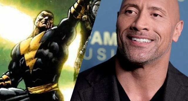 The Rock Dwayne Johnson protagonizará Black Adam