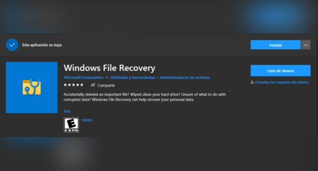 Microsoft estrena Windows File Recovery, su nueva herramienta para recuperar archivos borrados, ¿Cómo funciona y cómo puedo usarlo?