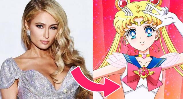 Paris Hilton se disfraza de Serena de Sailor Moon por el cumpleaños del personaje