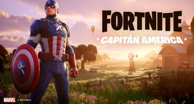 Fortnite le da la bienvenida a Capitán América con espectacular tráiler (VIDEO)