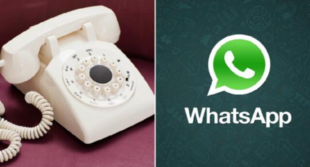 ¿Quieres usar WhatsApp desde tu teléfono fijo? Con este sencillo truco podrás lograrlo