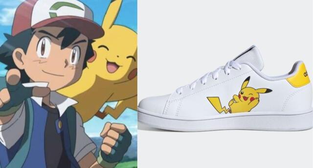 Adidas y Pokémon presentan una nueva colección de zapatillas