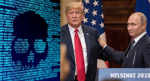 Trump confirmó que condujo un ataque cibernético en contra de la Agencia de Investigación de Internet.   Fuente: Composición.