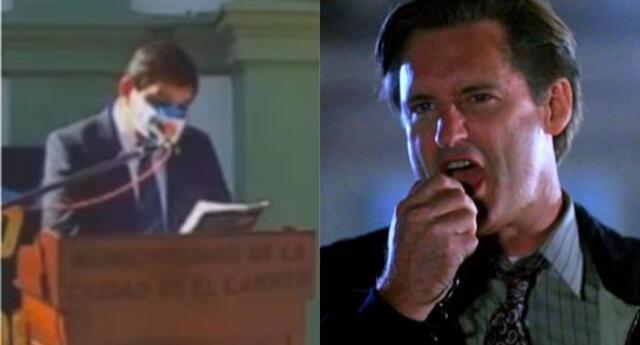 El político argentino copió el discurso de Día de la Independencia y lo adaptó para pasar desapercibido. | Fuente: Composición.