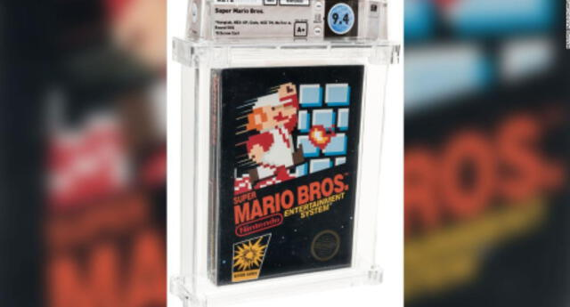 Una copia sellada de Super Mario Bros para NES rompió el récord del juego más caro vendido en la historia