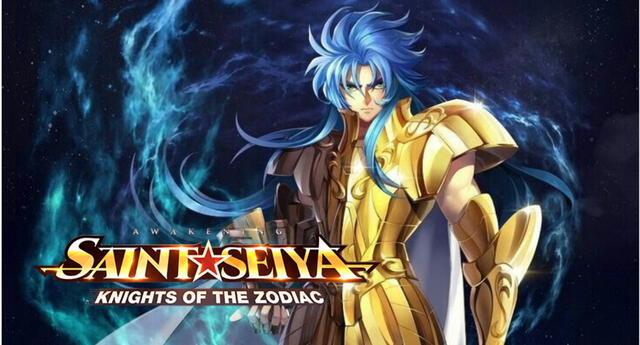 Kanon de Géminis, el poderoso hermano gemelo de Saga, llegará este miércoles, 15 de julio a Saint Seiya Awakening. | Fuente: Tencent