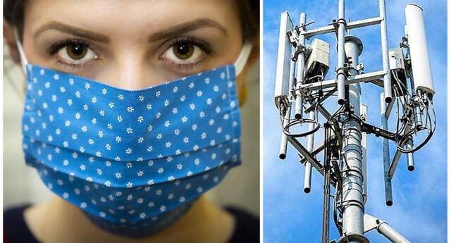 'El metal de las mascarillas es un cable del 5G': afirma disparatada teoría conspirativa