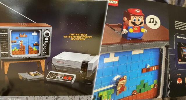 LEGO lanza teaser de su próximo set inspirado en NES que incluye un cartucho de Super Mario Bros y una TV (VIDEO)