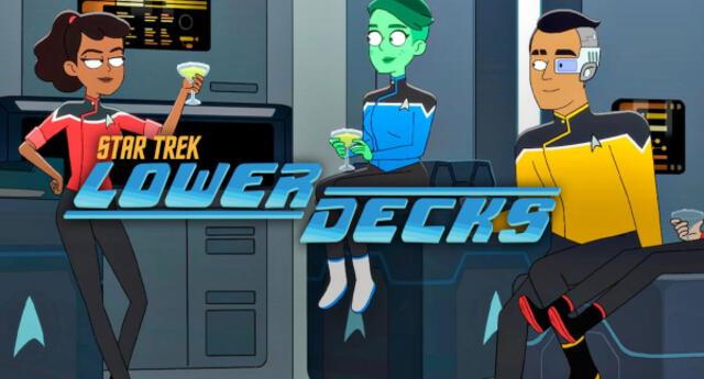 Star Trek Lower Decks: La serie animada creada por uno de los productores de Rick and Morty estrena tráiler (VIDEO)