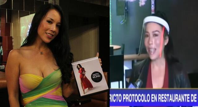 Patty Wong reabre restaurantes y se quiebra al recordar su niñes