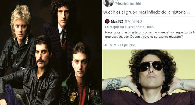 Andrés calamaro dice que Queen es un grupo inflado